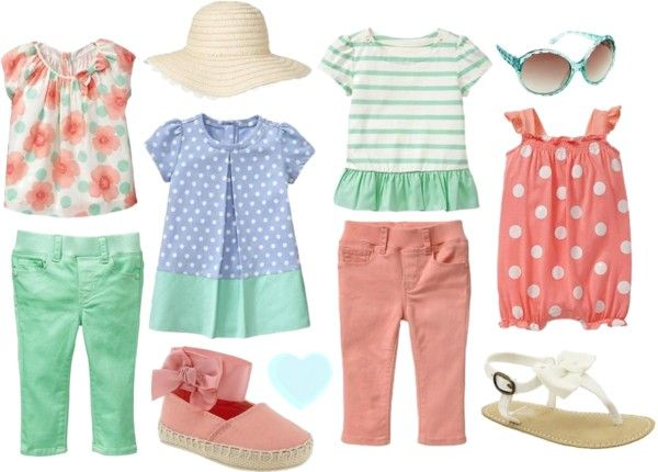 Baby Gap Spring 2013 Infant Girls. Just ordered some stuff for Miss M. :)