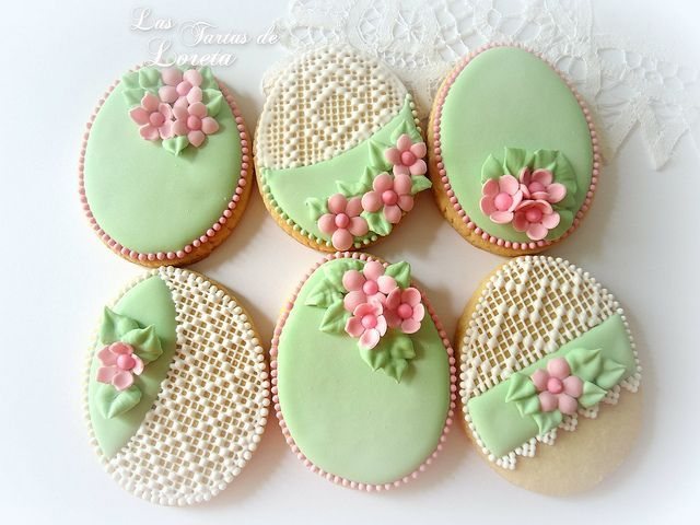cool Easter Egg Cookies...