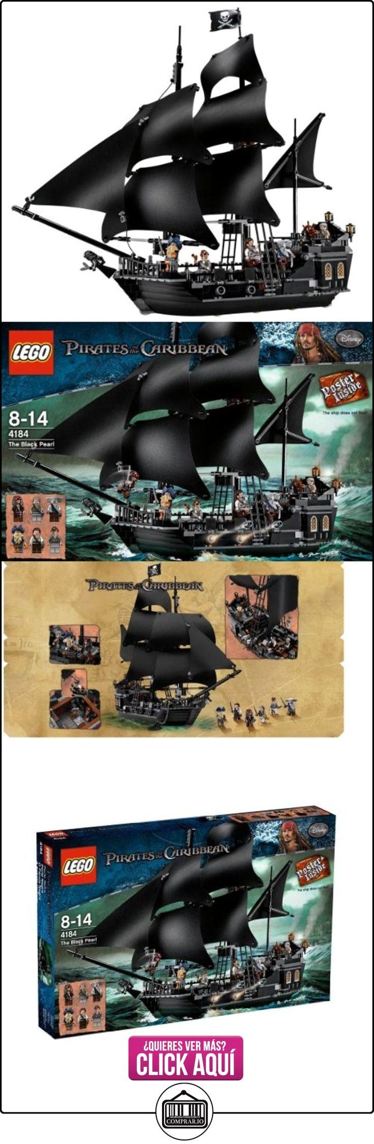 LEGO Piratas del Caribe - El Barco de la Perla Negra (4184)  ✿ Lego - el surtido más amplio ✿ ▬► Ver oferta: https://comprar.io/goto/B004OT6NJU