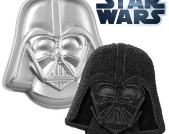 X1, Limited, Discontinued, Darth Vadar, Cake Pan, Aluminum Baking Pan, Come to the Dark Side