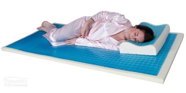 Cooling Gel Memory Foam Mattress Topper #mattresses #mattress #mattresstopper #mattresspad #matresscover