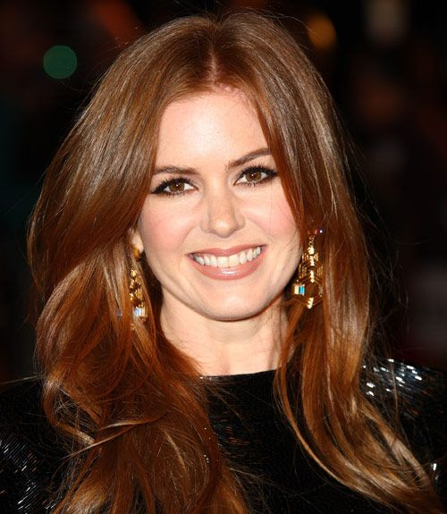 35 Long Hairstyles From Celebrities We Love Isla Fisher