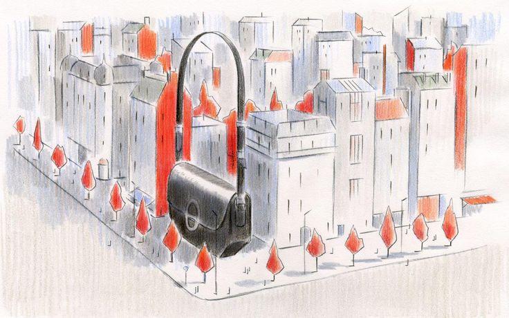 Illustration | François Avril x Hermès | #illustration