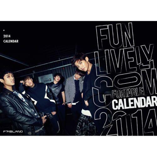 [2014 K-POP Season Greeting] FT Island Idol Memorable (Table Calendar+Sticker)