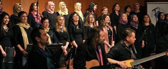 24. İstanbul Caz Festivali'nde Suriyeli Kadınlar Korosu