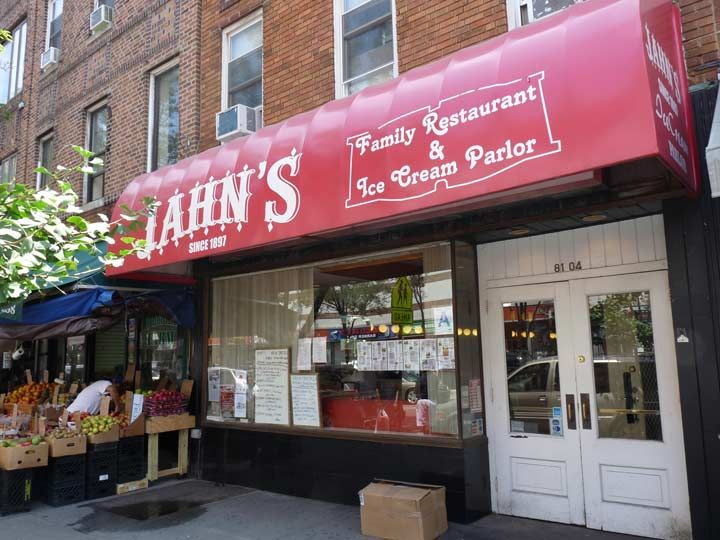 The last Jahn's in Jackson Heights 81-04 37th Avenue