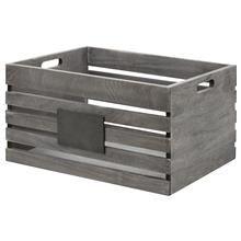 Large Blackboard Wooden Crate