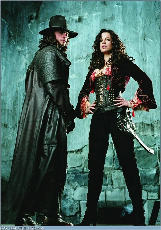 Van Helsing and Princess Anna Valerious | Hugh Handsome ...