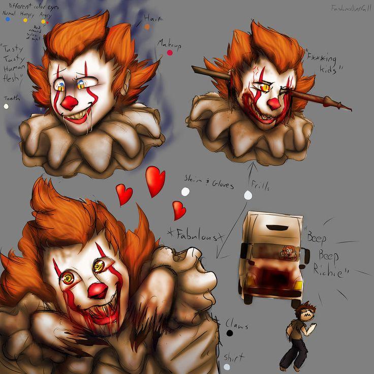 Pennywise the Dancing Clown by FandomsOverfall.deviantart.com on @DeviantArt