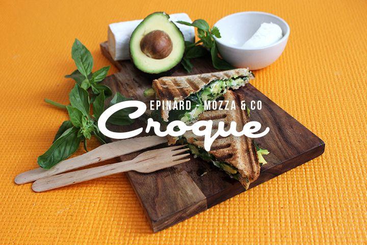 Blog Cuisine & DIY Bordeaux - Bonjour Darling - Anne-Laure: Croque complet épinard, mozza & co...