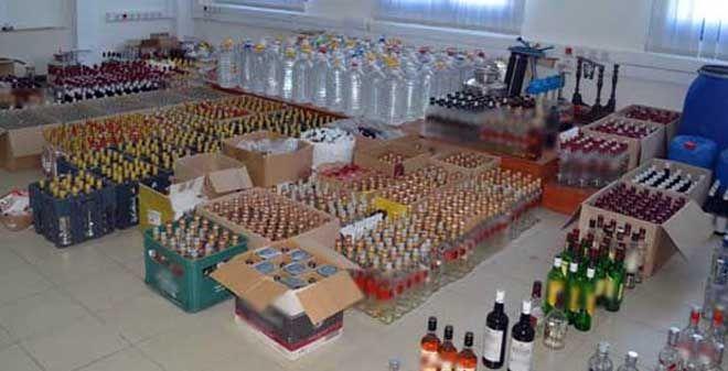 Εξαρθρώθηκε κύκλωμα παρασκευής λαθραίων ποτών σε Κατερίνη και Θεσσαλονίκη