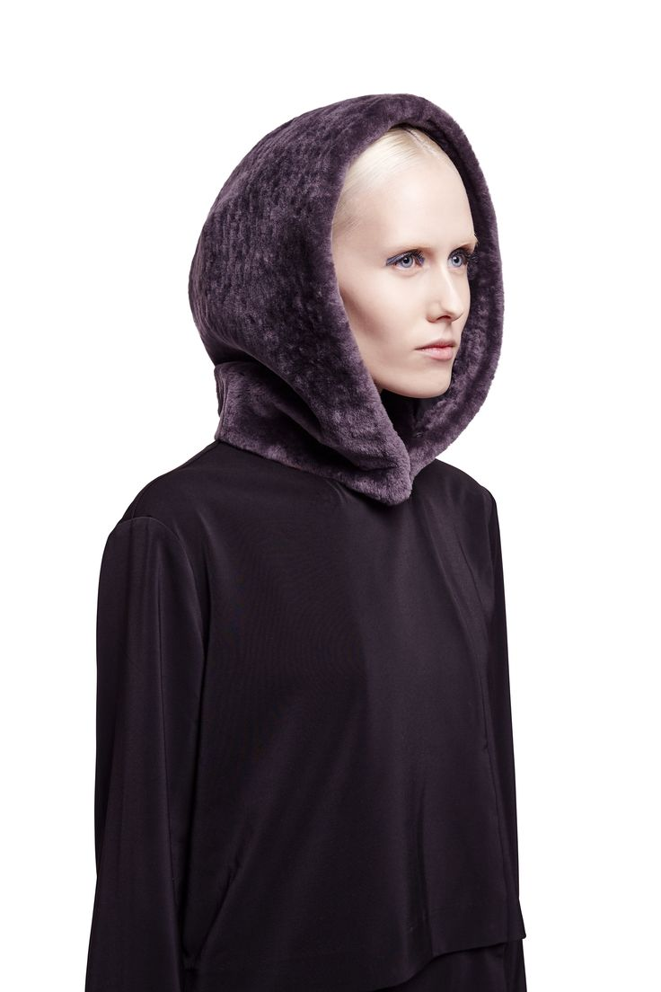 ONAR Skia hood in grey