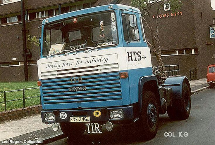 Scania 110-Hts Engeland