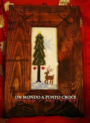 Un mondo a punto croce: Jenny's patterns: E' Natale