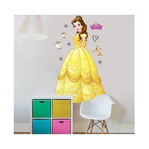 Muursticker Disney Prinses Belle