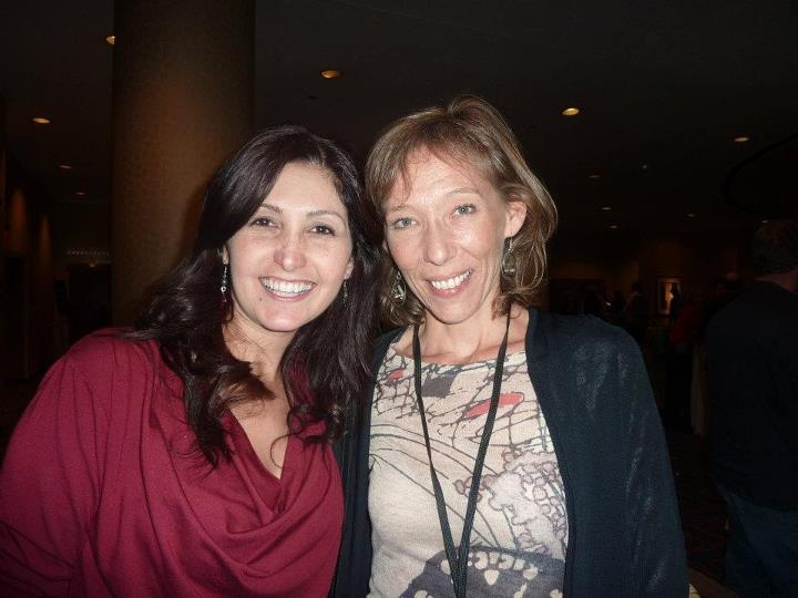Cheryl and I at Brendon Berchard's 10xNYC event in New York. Time Square 7th-12April 2012