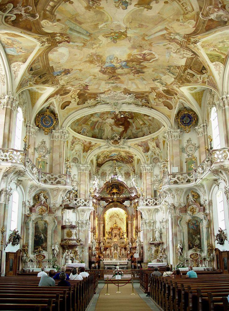 Birnau Interior Baroque Interior Church Architecture Baroque Architecture