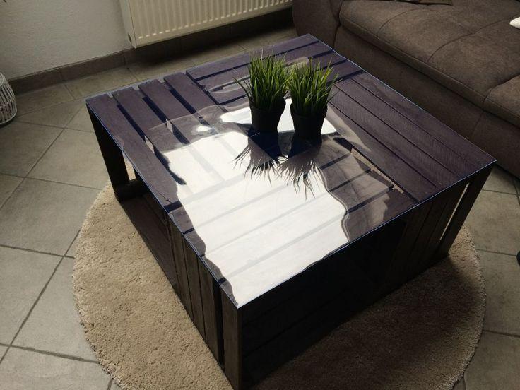 Beim Einzug In Die Neue Wohnung Sollte Ein Besonderer Tisch Ins Wohnzimmer DIY