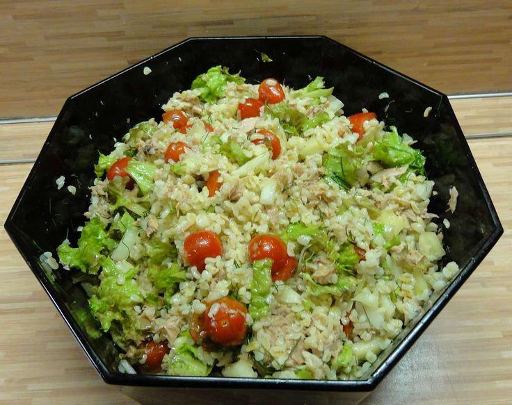 Jak připravit lehký salát z bulguru   recept
