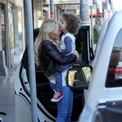 EXCLUSIVE Real Housewives of Sydney star Melissa Tkautz dotes on son Cuba during shopping trip