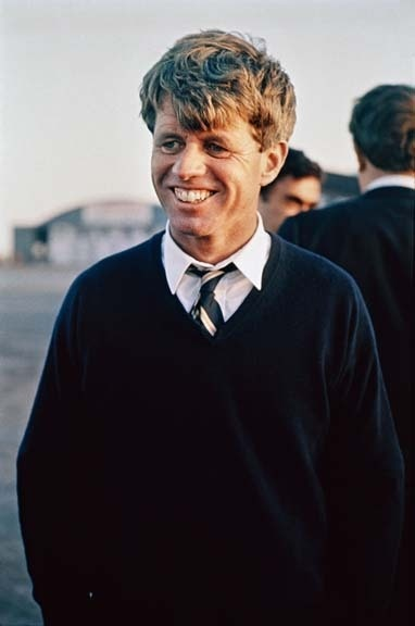 Robert F. Kennedy, Indiana, 1968 from the book Steve Schapiro: Then and