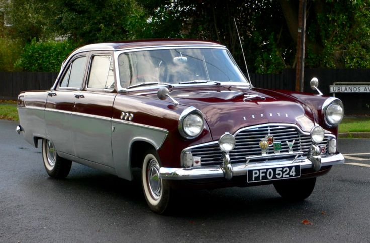 Old English Ford Cars