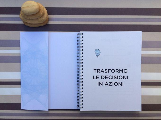 Prima pagina del Great meetings notebook, disponibile via Kickstarter