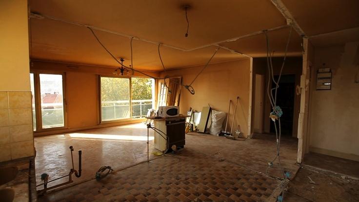 Damien gires relooke un appartement parisien de 70 m tres for Chambre 8 metre carre
