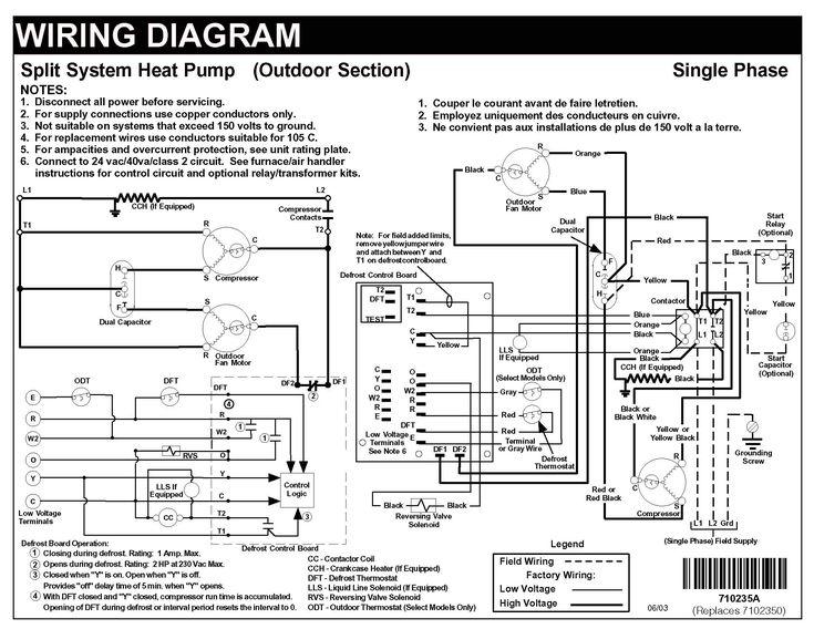 Wiring Diagram For Coleman Heat Pump Wiring Diagram