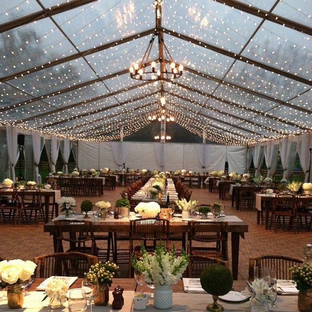 gorgeous #wedding setting at Zingerman's Cornman Farms via VLD