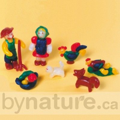 Modelling beeswax for natural play. Stockmar modeling beeswax and Stockmar modeling wax.