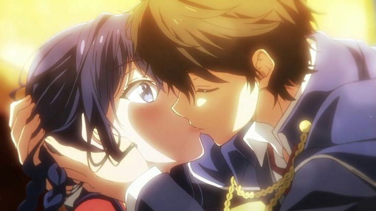 Masamune kun no revenge ep 12 kiss FINALLY