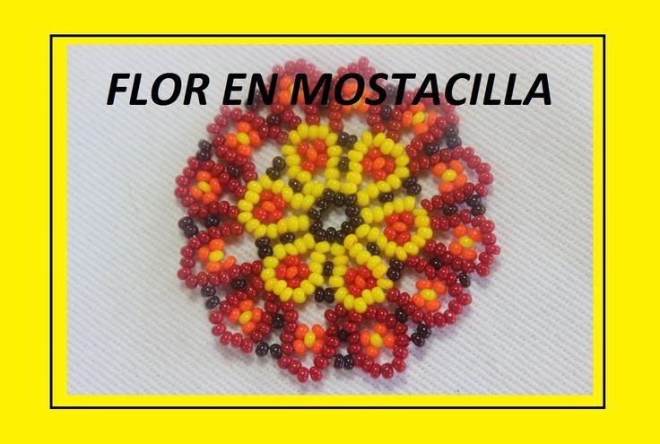 FLOR AMARILLA EN MOSTACILLA