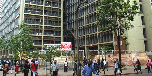 The Treasury building in Nairobi. PHOTO | FILE
