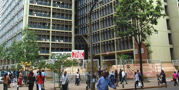 The Treasury building in Nairobi. PHOTO | FILE