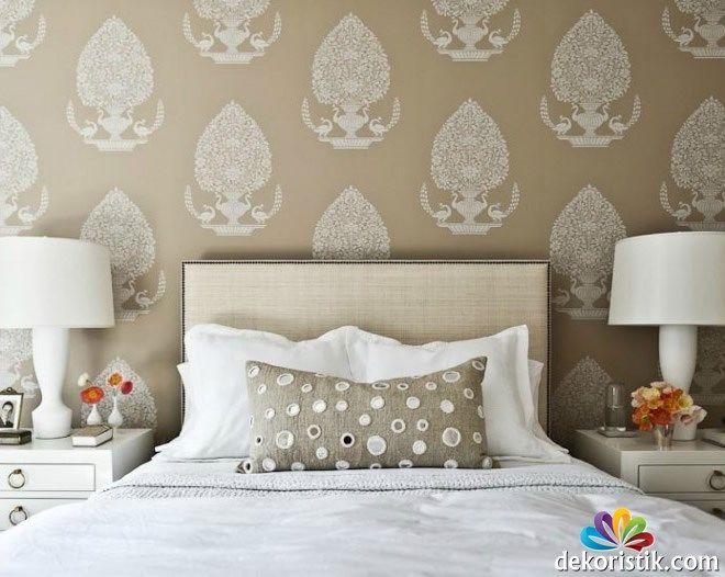İthal Yatak Odası Duvar Kağıdı