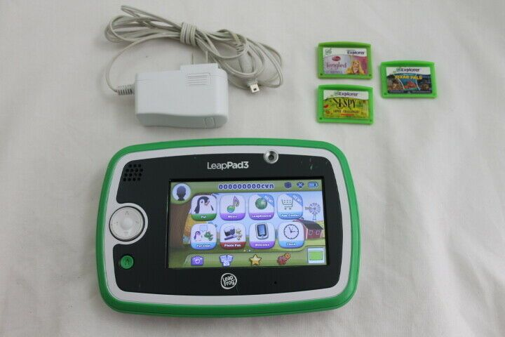 Sensational Leapfrog Leappad 3 W Charger 3 Games Green Leap Pad Wifi Download Free Architecture Designs Rallybritishbridgeorg