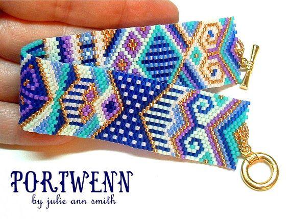 Julie Ann Smith conçoit PORTWENN Bracelet par JULIEANNSMITHDESIGNS