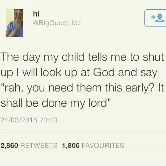 African parents be like..