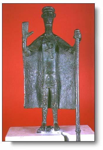 Sardegna, Nuragic Chief, museum of Cagliari
