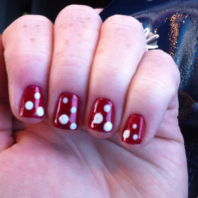 Avi Lea and I will have to have a nail makeover before the trip!