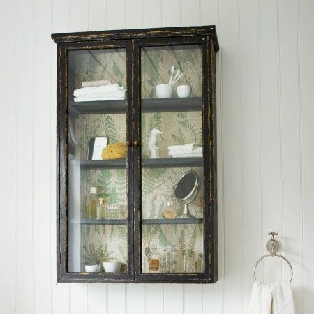 Glass Fronted Wall Cabinet