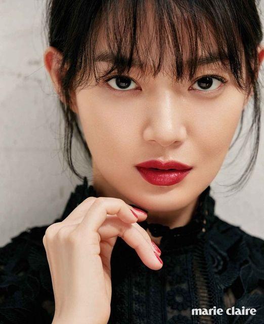 Shin Min Ah for Marie Claire Korea, June 2017