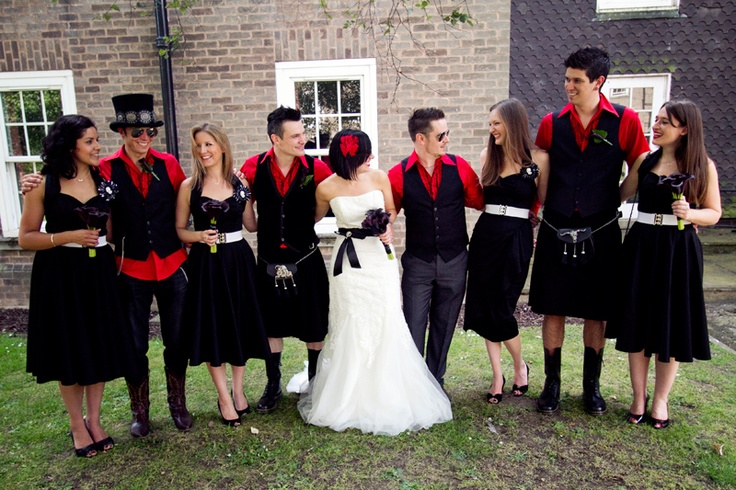 <3 the Red White and Black theme