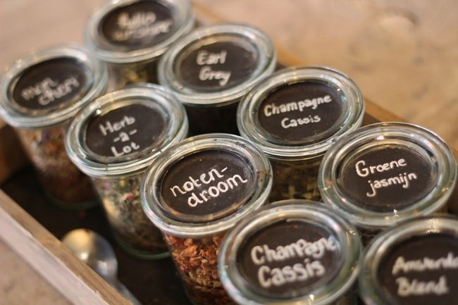 Verse thee (geen rooibos of Earl Grey)