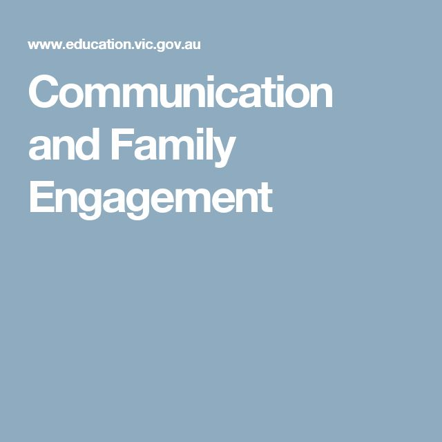 Communication and Family Engagement