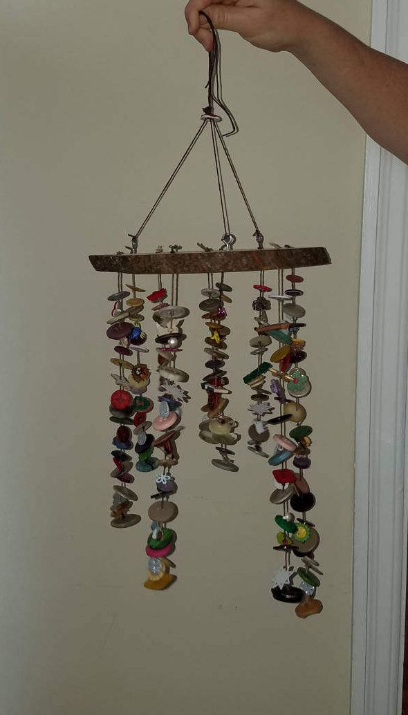 Button Mobile/ Wind chime
