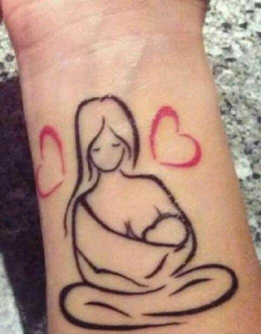 Tattoo femeninos madre he hijo tattoos peque os for Fotos de garajes bonitos