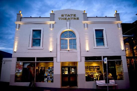 State Cinema - movies with wine, bookstore, cafe, rooftop cinema