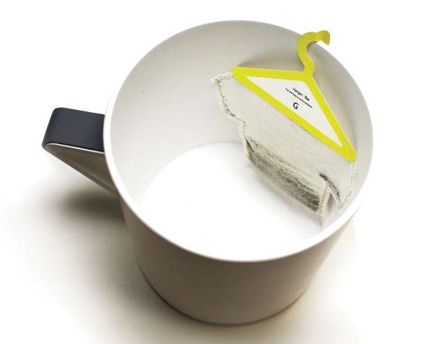 Hanger Tea – Teabags Packaging by Soon Mo Kang » Yanko DesignTeas Time, Clever Packaging, Packaging Design, Teas Packaging, Hangers Teas, Bags Design, T Shirts, Products, Teas Bags